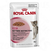 Royal Canin Kitten Instinctive Pouch 12Pack Cat Food - 85G