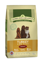 James Wellbeloved Turkey & Rice Adult Dry Dog Food - 15kg