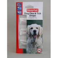 Beaphar Large Dog Flea Drops 12 Week 12wk