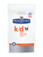 Hills Prescription Diet K/D Dry Cat Food - 1.5Kg