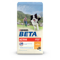 BETA Active Adult Dry Dog Food - 14kg