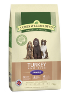 James Wellbeloved Turkey & Rice Senior Dry Dog Food - 15kg
