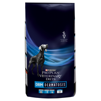 Purina Veterinary Diet Canine DRM Dermatosis Dry Dog Food - 3Kg