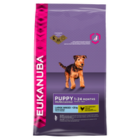 Eukanuba Large Breed Complete Dry Puppy Food - 12kg