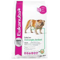 Eukanuba Daily Care Overweight/Sterilised Dry Dog Food - 12.5kg