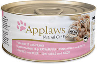 Applaws Tuna & Prawn Tin 24 Pack Cat Food 70g