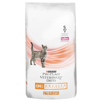 Purina Veterinary Diet Feline OM ST/OX Obesity Management Dry Cat Food - 1.5Kg