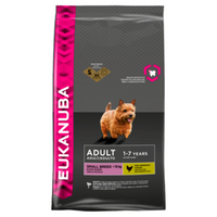 Eukanuba Adult Small Breed Chicken Dry Dog Food - 12kg