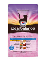 Hills Ideal Balance Kitten Chicken & Brown Rice Dry Cat Food - 300g