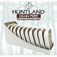 Huntland Adult Grain Free Dog Food Trays 10 Pack - 395g