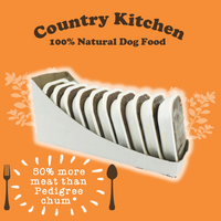 Country Kitchen Adult Dog Food Trays - 10 x 395g