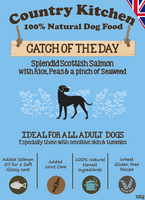 Country Kitchen Catch of the Day Dry Dog Food - 15kg