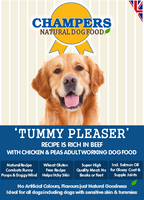 Champers Rich in Beef Dry Dog Food - 12kg + 3kg FREE