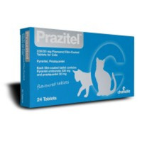 Prazitel Worming Tablets for Cats - 1 Tablet