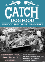 Catch Adult Salmon with Trout & Sweet Potato Grain Free Dry Dog Food - 10kg