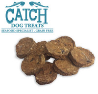 Catch Natural Whitefish & Seabass Dog Cookies - 1kg