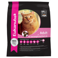 Eukanuba Dry Cat Food for Overweight or Sterilized Cats - 400g
