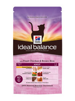 Hills Ideal Balance Adult Chicken & Brown Rice Dry Cat Food - 2kg