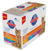 Hills Science Plan Adult Multipack 12Pack Cat Food - 85G