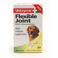 Vetzyme Flexible Joint With Glucosamine Tablets 30s