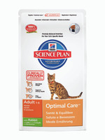 Hills Science Plan Adult Rabbit Dry Cat Food - 10kg
