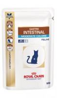 Royal Canin Feline Gastro-Intestinal S/O Moderate Calorie Wet Cat Food - 48 x 100G