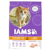 Iams Kitten/Junior Chicken Dry Cat Food - 10kg