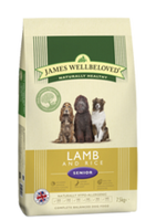James Wellbeloved Lamb & Rice Senior Dry Dog Food - 15kg
