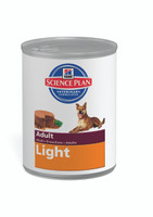 Hills Science Plan Adult Light 12Pack Dog Food - 370g