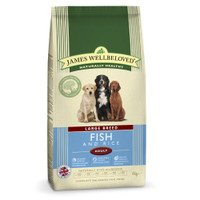 James Wellbeloved Fish & Rice Adult Large Breed Dog Food - 15kg