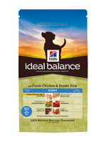 Hills Ideal Balance Puppy Chicken & Brown Rice Dry Dog Food - 12kg