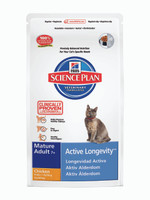 Hills Science Plan Active Longevity Mature Chicken Dry Cat Food - 2kg