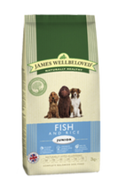 James Wellbeloved Fish & Rice Junior Dry Dog Food - 15kg