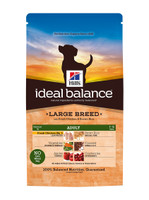 Hills Ideal Balance Large Breed Adult Chicken & Brown Rice Dry Dog Food - 2kg