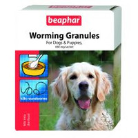 Beaphar Dog Worming Granules 4x3gm