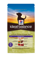 Hills Ideal Balance Mature Adult Chicken & Brown Rice Dry Dog Food - 12kg