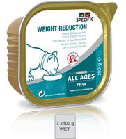 Dechra Feline Specific Frw Weight Reduction 7pk Cat Food - 100G