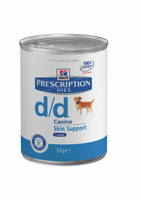 Hills Prescription Diet D/D Venison 12pk Dog Food - 370G