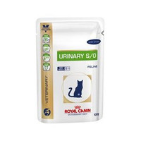 Royal Canin Feline Urinary S/O Beef Wet Cat Food - 48 x 100G