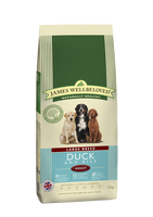 James Wellbeloved Duck & Rice Adult Large Breed Dog Food - 15kg