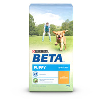 BETA Dry Puppy Food with Chicken - 14kg
