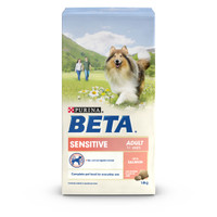 BETA Adult Sensitive Salmon & Rice Dry Dog Food - 14kg