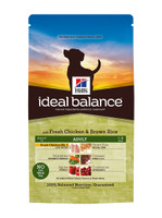 Hills Ideal Balance Adult Chicken & Brown Rice Dry Dog Food - 12kg
