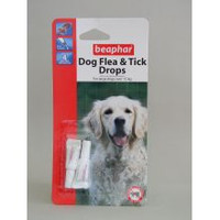 Beaphar Large Dog Flea Drops 4 Week 4wk