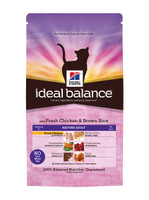 Hills Ideal Balance Mature Adult Chicken & Brown Rice Dry Cat Food - 2kg
