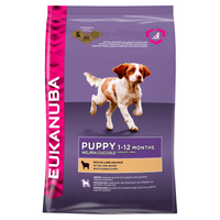 Eukanuba Lamb & Rice Dry Puppy Food - 12kg