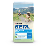 BETA Puppy Large Breed Turkey Dry Dog Food - 14kg