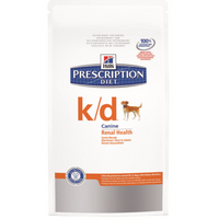 Hills Prescription Diet K/D Dry Dog Food - 12Kg