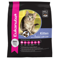 Eukanuba Chicken with Liver Dry Kitten Food - 4kg