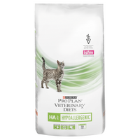 Purina Veterinary Diet Feline HA ST/OX Hypoallergenic Dry Cat Food - 1.3Kg